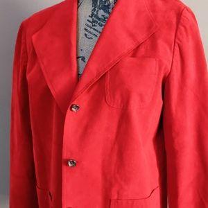 Vintage Abe Schrader Ultra Suede Classic Blazer